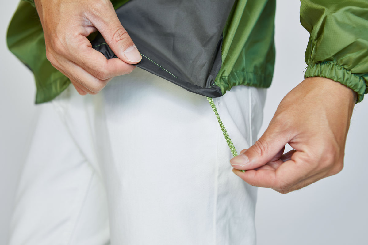 調節可能な裾