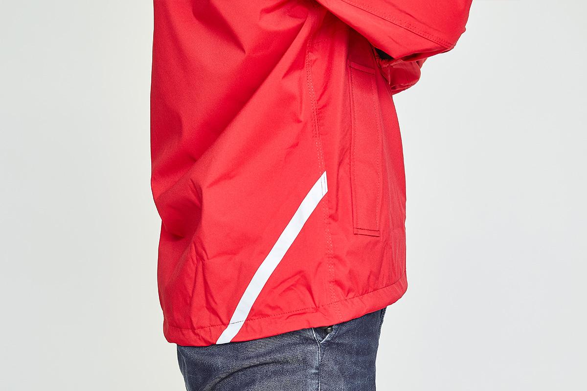 伸縮+ベルクロ留めの袖口