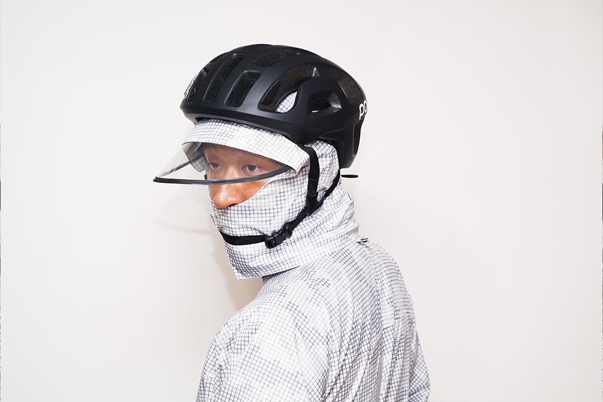 ヘルメット着用 白